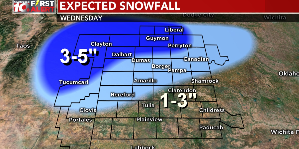 FIRST ALERT: Blizzard conditions coming to an end