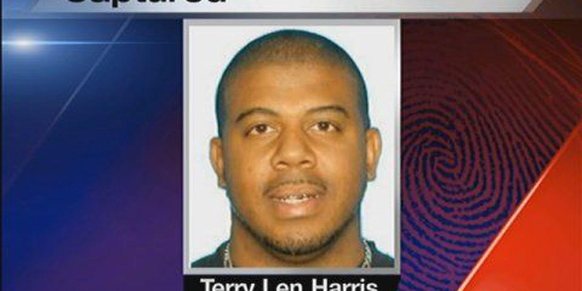 Fugitive File: Terry Harris in custody
