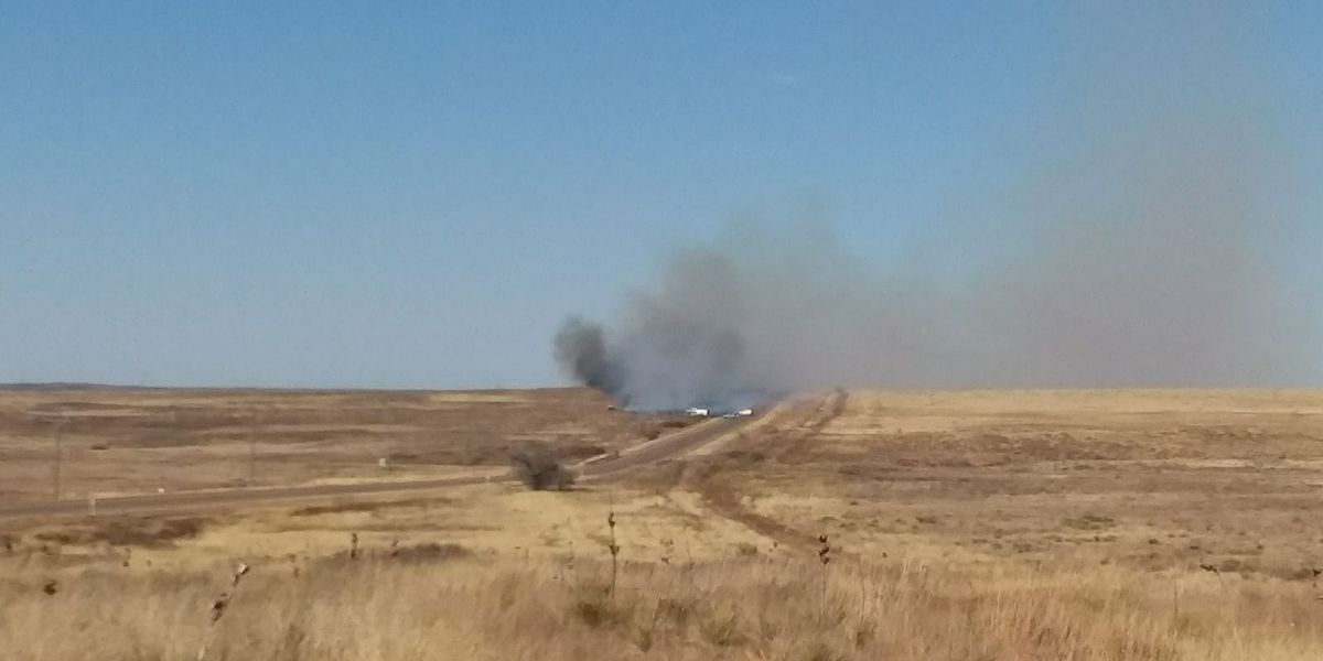 Fritch Highway fire 100 percent contained