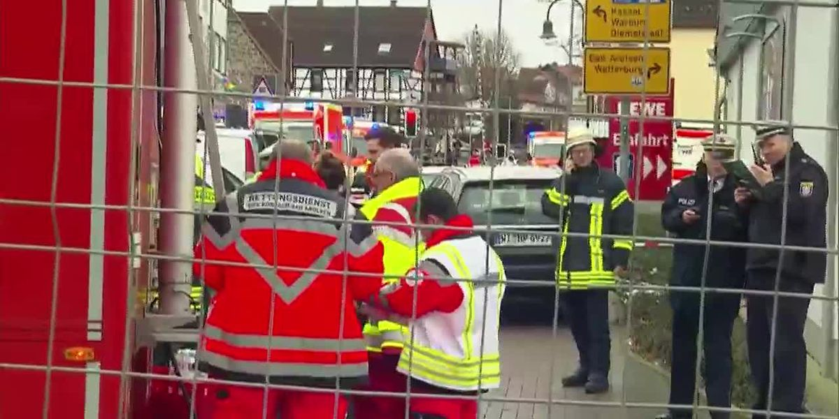 Driver 'intentionally' plows through Carnival crowd in Germany, injuring at least 30