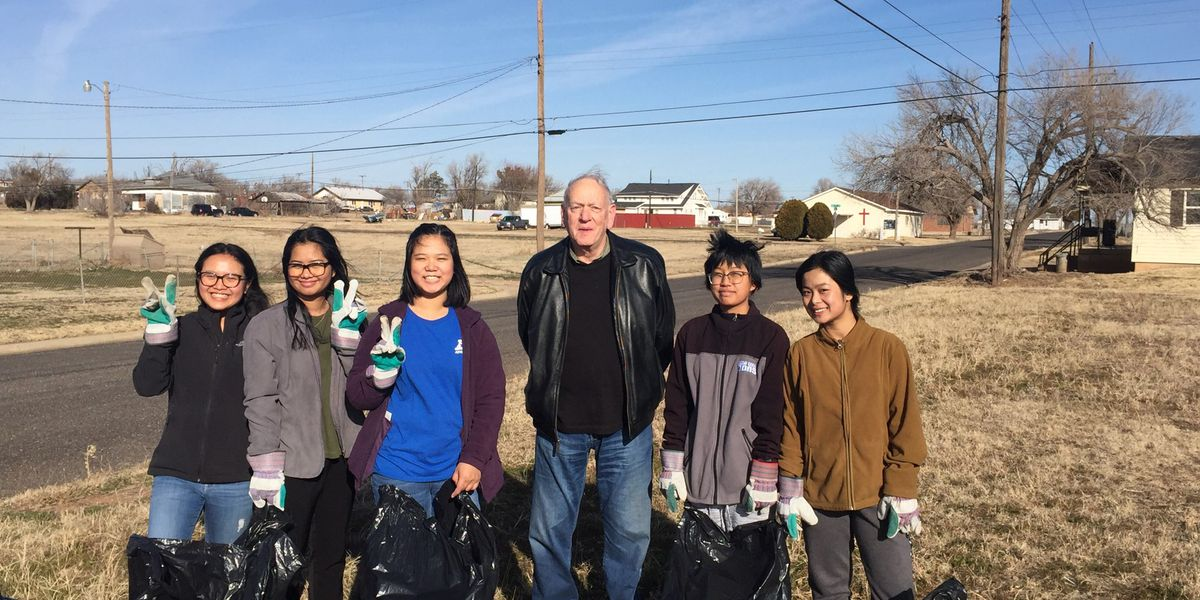 Amarillo community members gather for day of service in honor of Martin Luther King Jr. Day