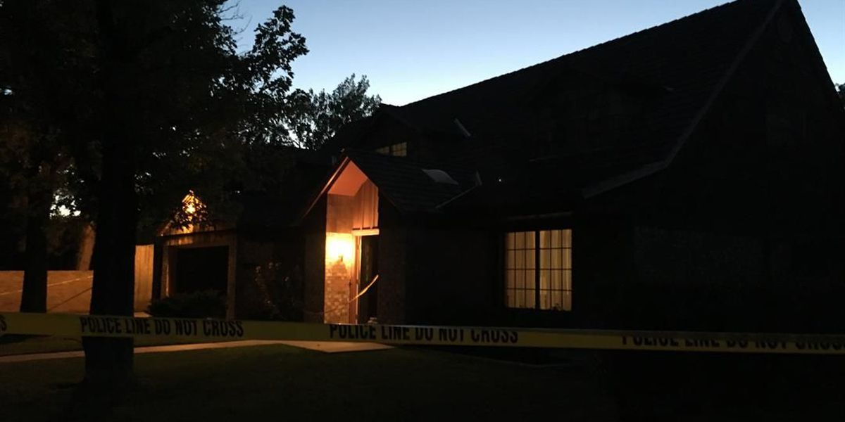 Amarillo police search for a suspect involved in home invasion robbery