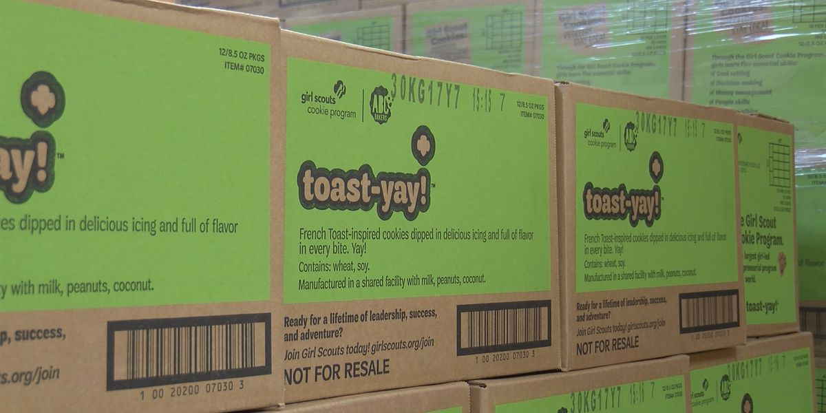 Girl Scout Cookie season begins, features new 'Toast-Yay' cookie