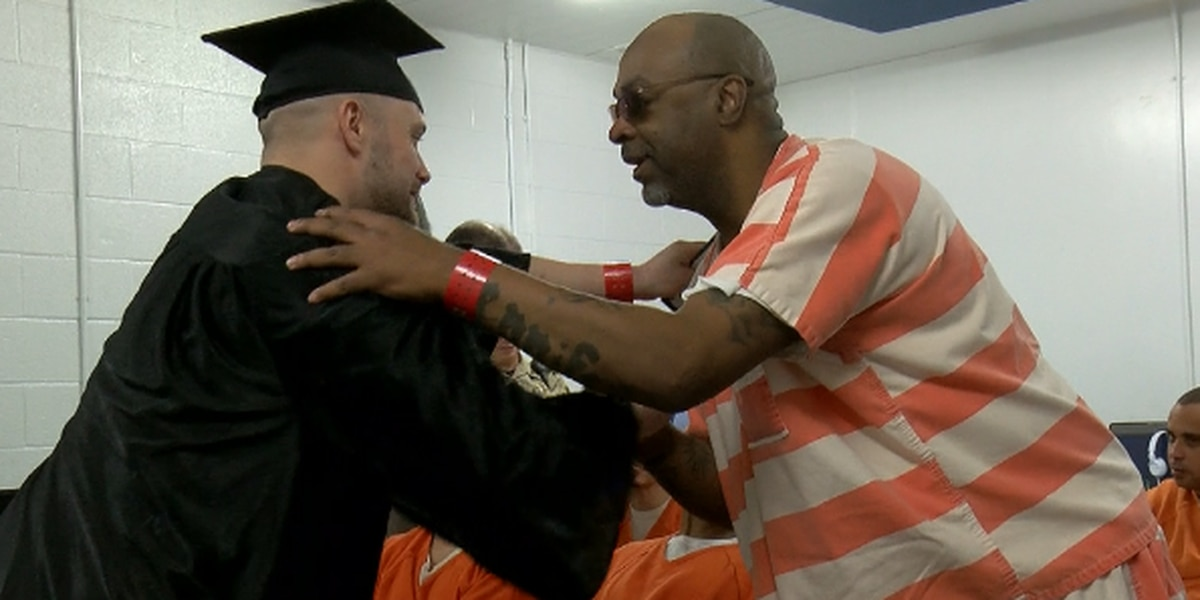 A first of its kind graduation at the Potter County Detention Center