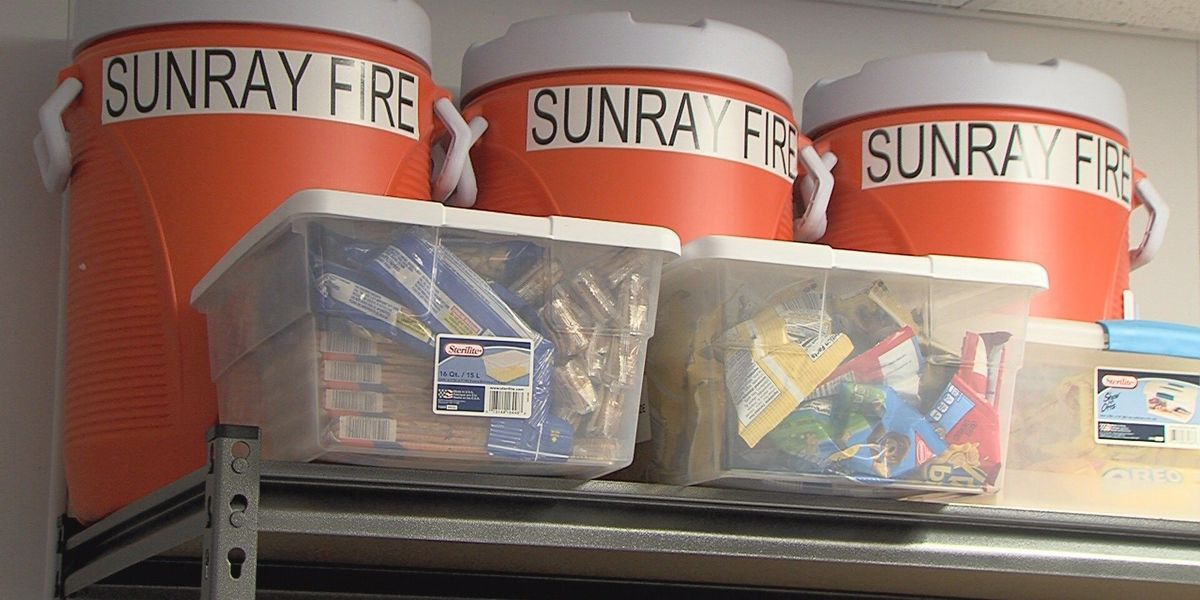 Outpouring of support for Sunray Volunteer Fire Dept. comes during a rough fire season