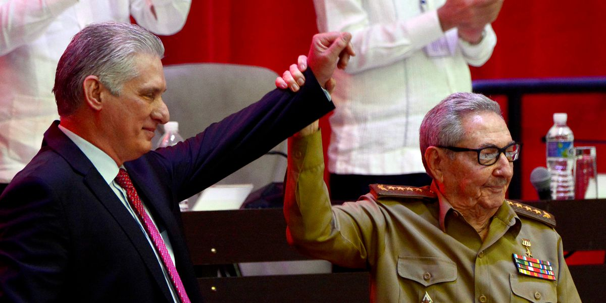 Cuba's Communist Party chooses Miguel Díaz-Canel as leader