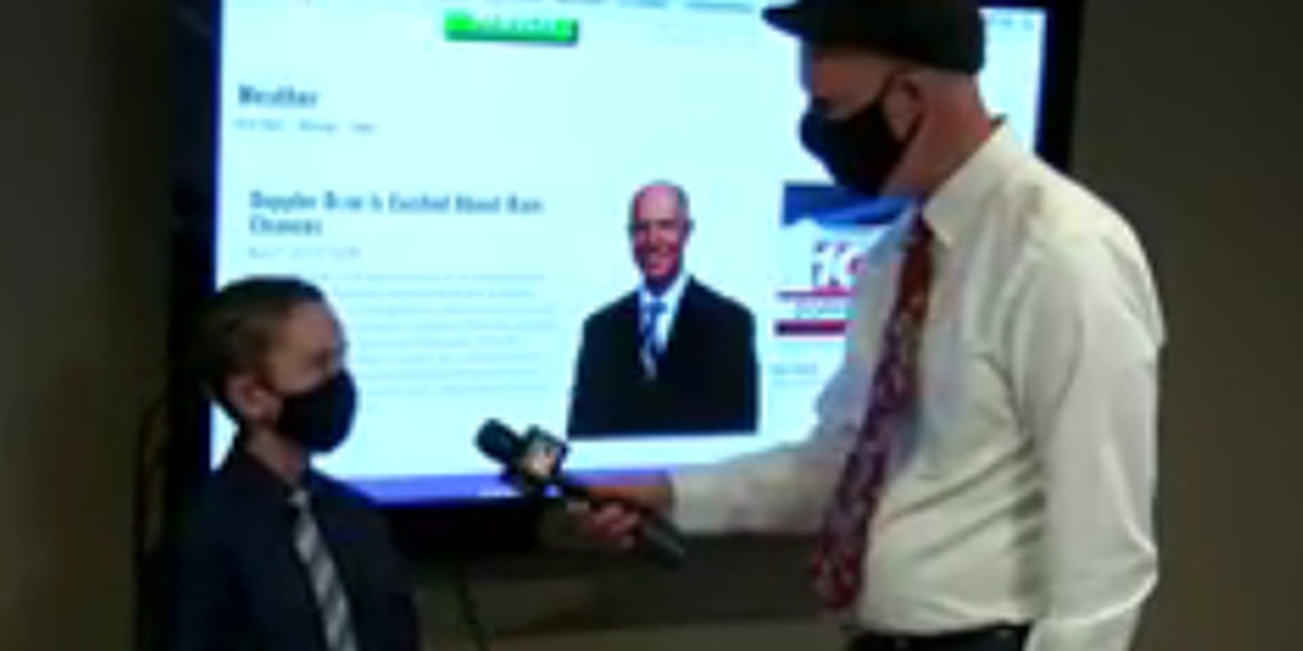 GOOD NEWS: Doppler Dave interviews up and coming young meteorologist
