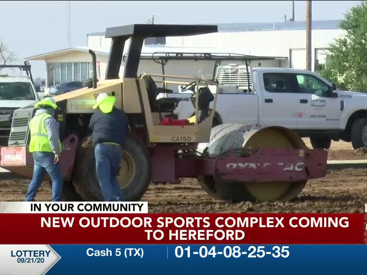 VIDEO: New outdoor sports complex coming to Hereford