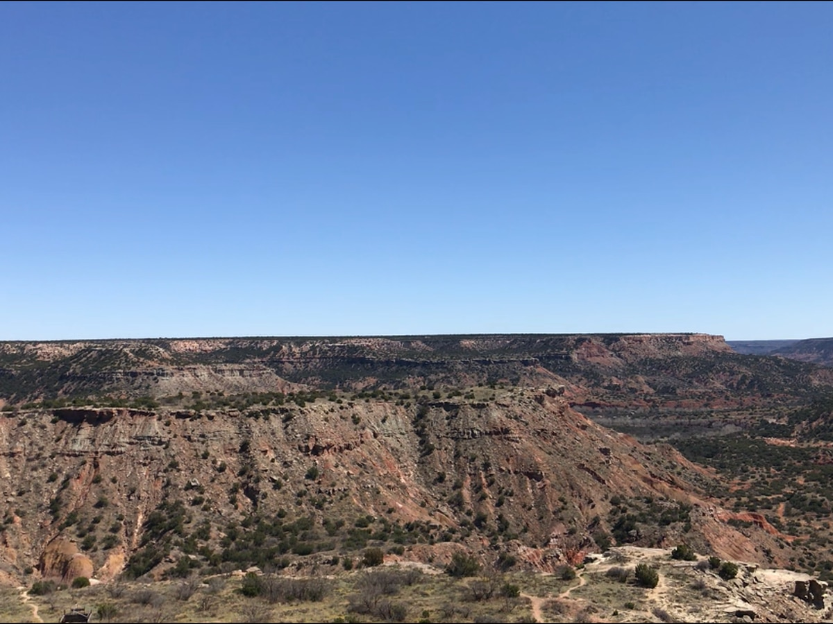 Escaping Coronavirus in the canyon