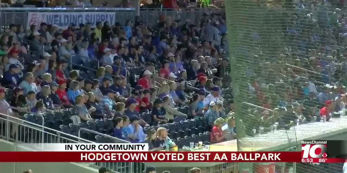 HODGETOWN voted Best Double-A Ballpark