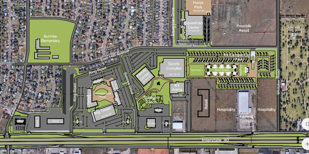 East Amarillo one step closer to $9 million hotel, retail businesses and sports complex
