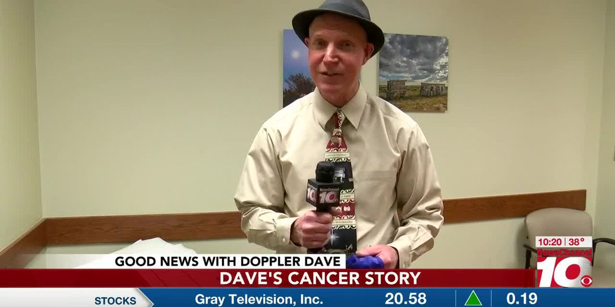 Video - Good News: 'It's all about early detection': Doppler Dave's message as he announces cancer battle - KFDA