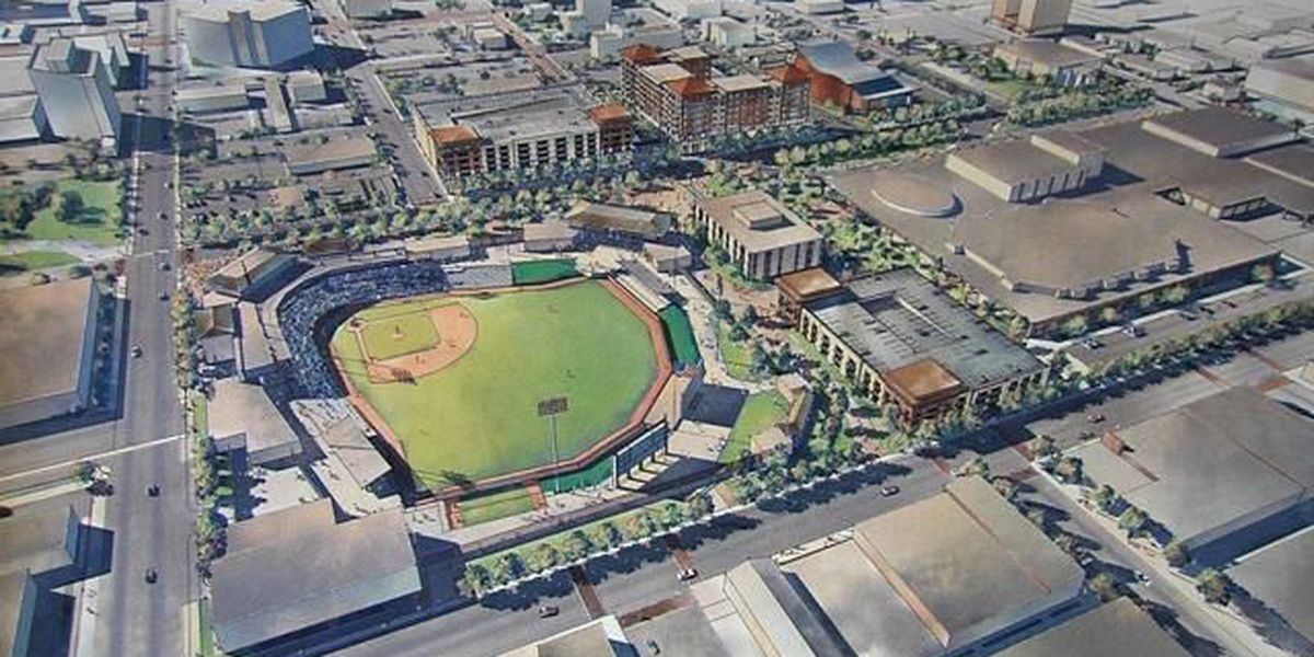 Why does Amarillo need a new baseball park and hotel?