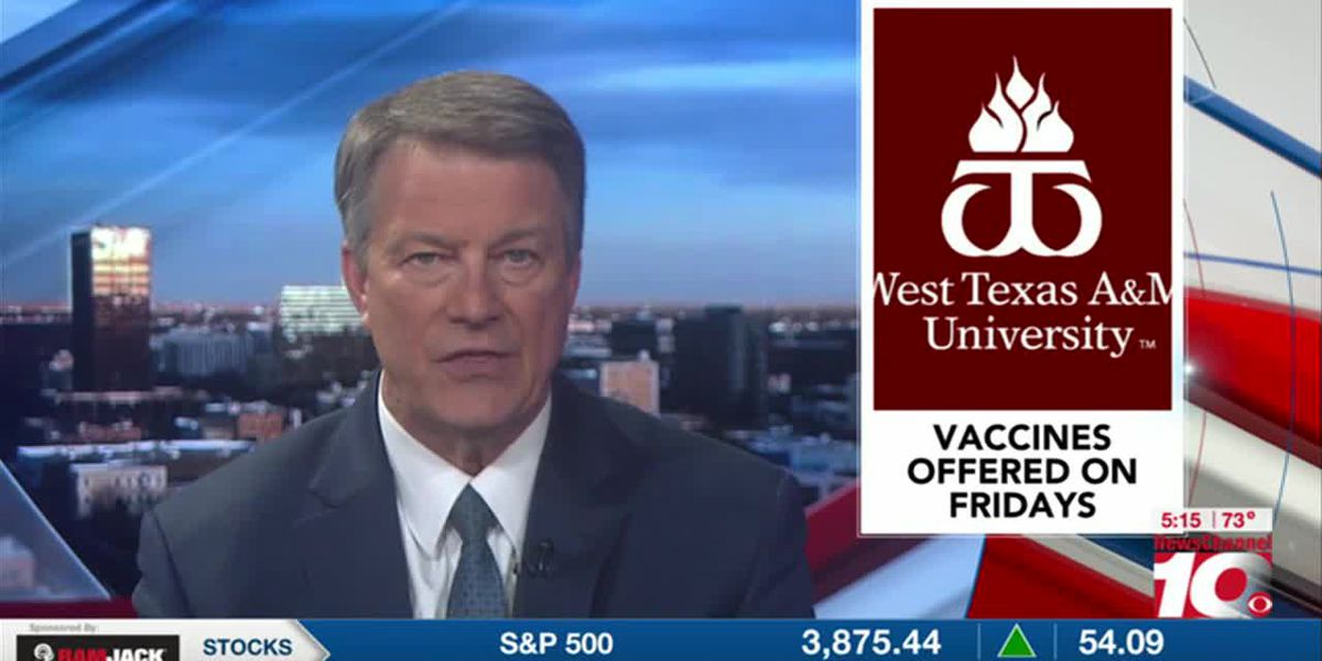 VIDEO: WTAMU to begin offering COVID-19 vaccine to employees and students