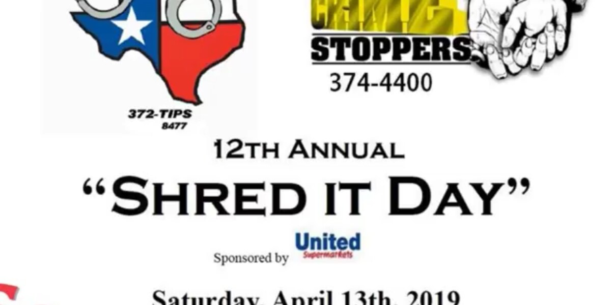 Amarillo police holding annual 'Shred-It Day' event