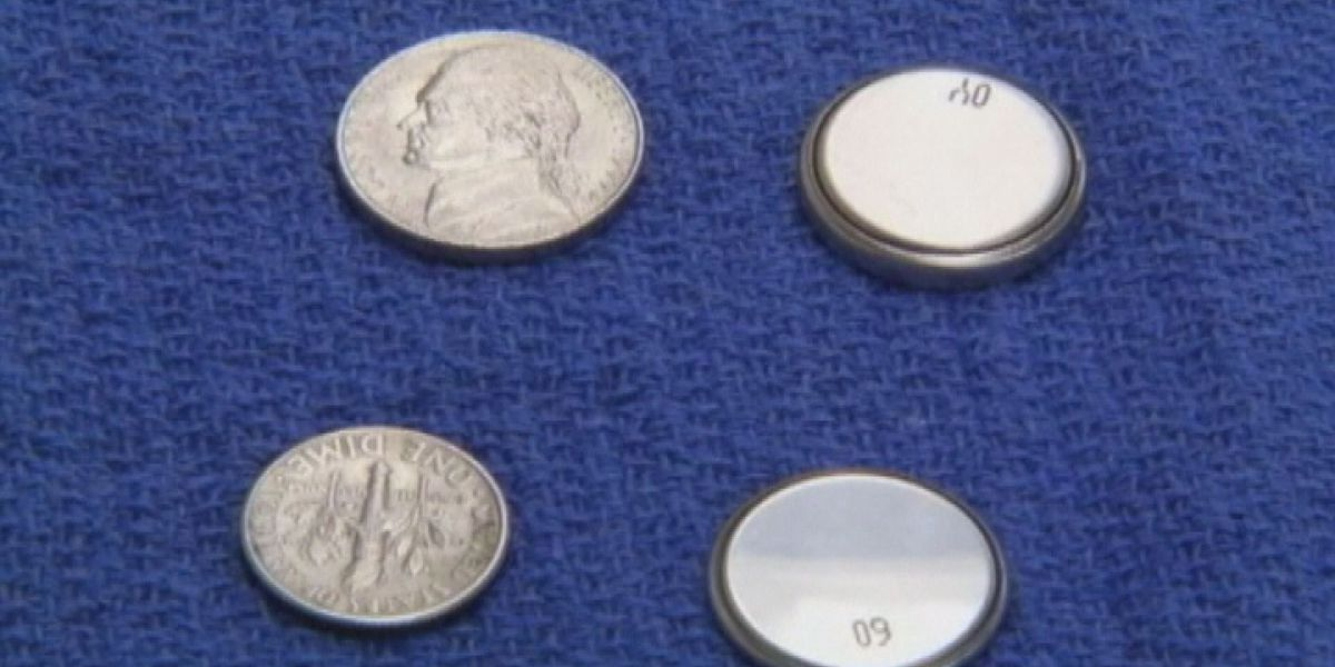 Button batteries pose danger to elders