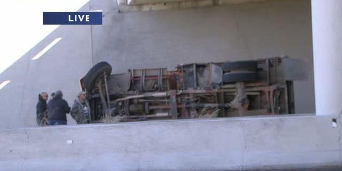Wreck stalls traffic near Amarillo Boulevard and Lakeside