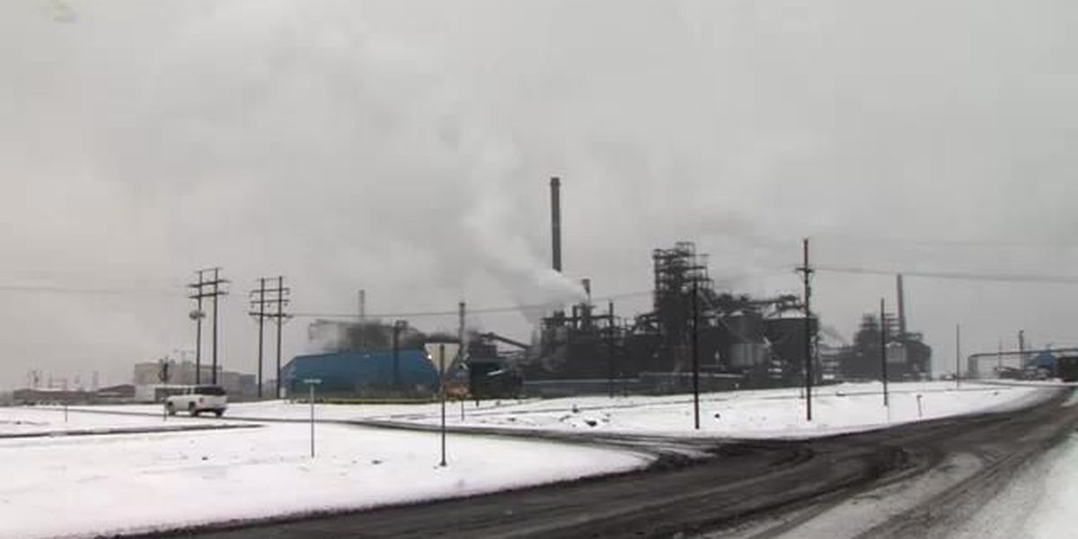 Rare industrial snow event affects the panhandle