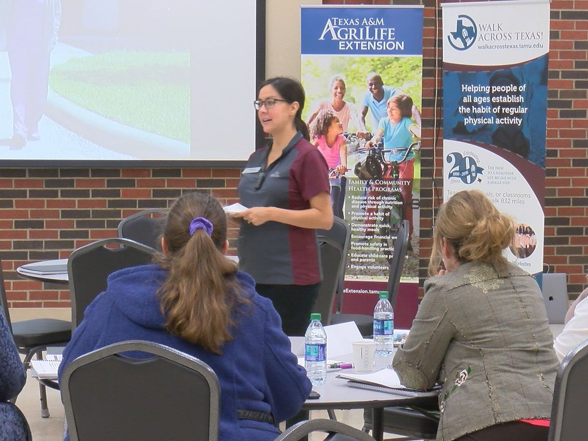 Texas A&M AgriLife helping local and area businesses build a healthy workplace