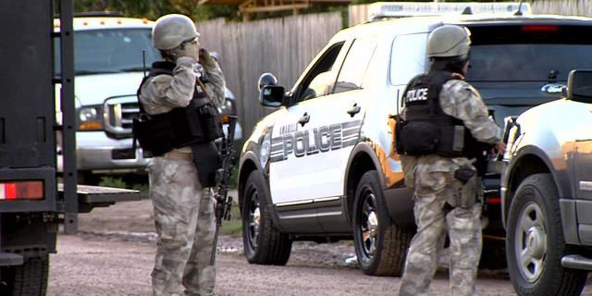 Dimmitt PD honors APD SWAT team