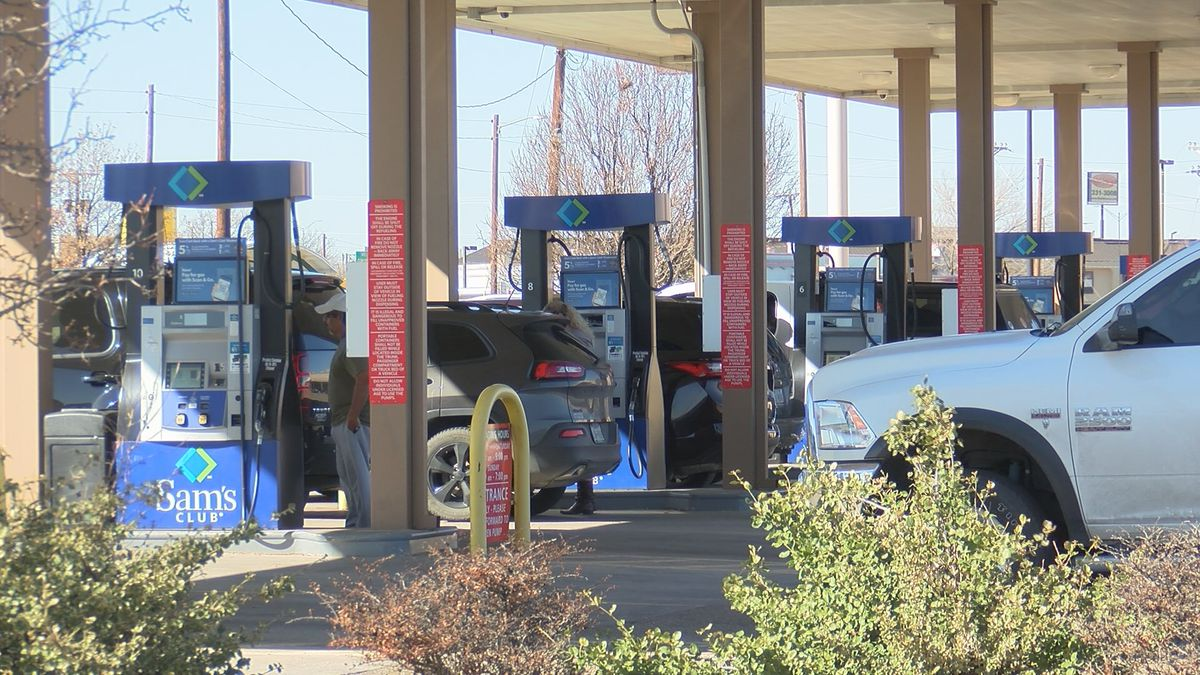 Amarillo gas prices decline as less travelers are on the road this thanksgiving
