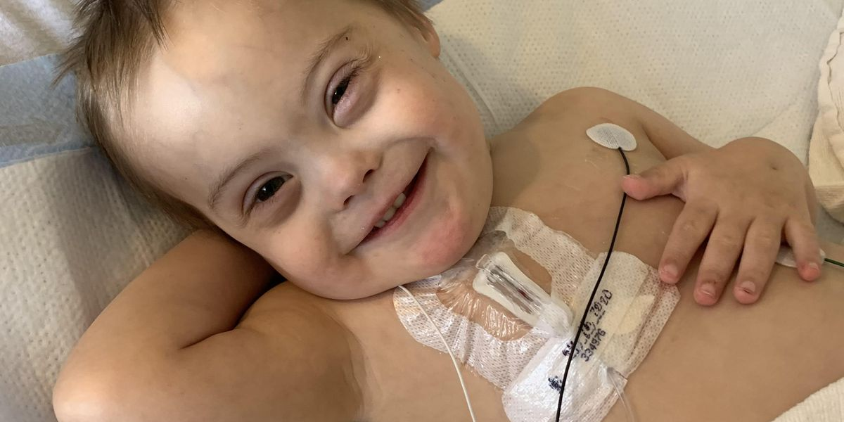 'This is going to change your life': Parents discuss 3-year-old's battle with cancer