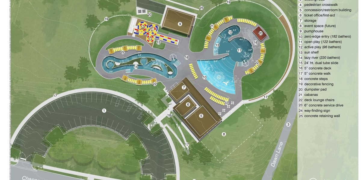 City of Amarillo reveals details of new $7.9 million Thompson Park Pool