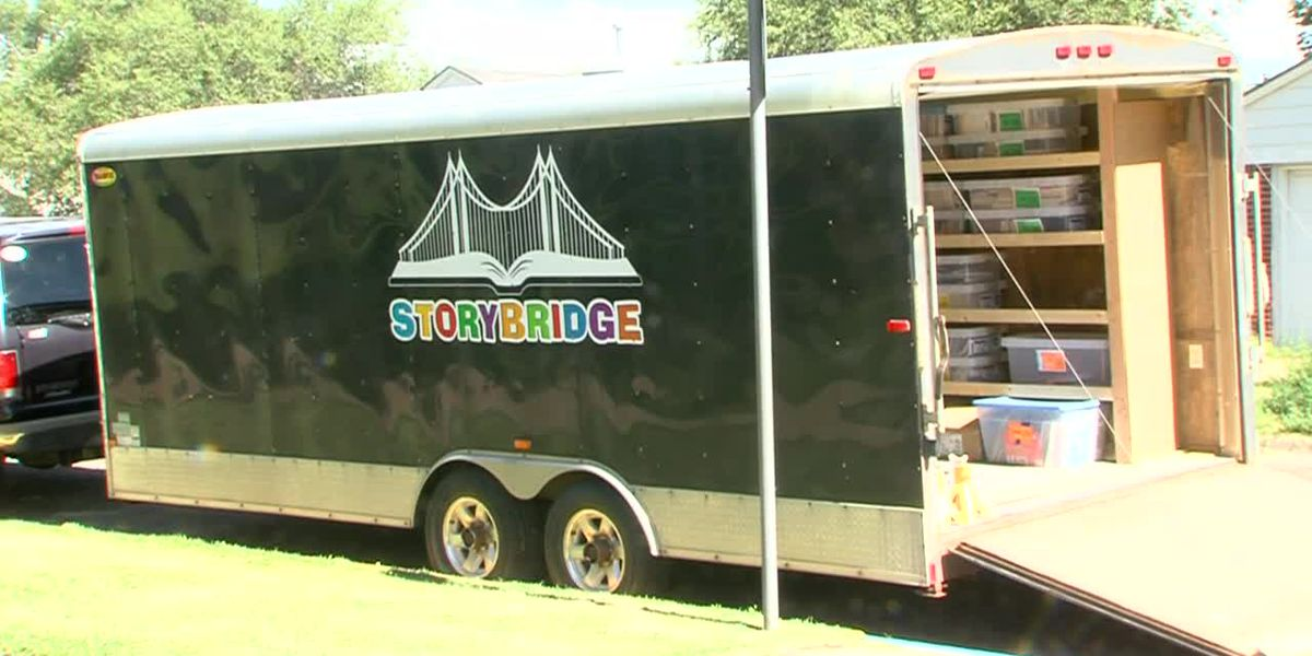 At-risk children will soon have access to books thanks to Storybridge partnering with the C