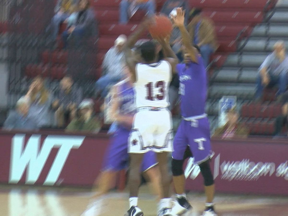 WT Men rally to beat Tarleton, Lady Buffs fall short