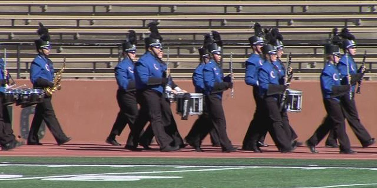 Region 1 marching band contest