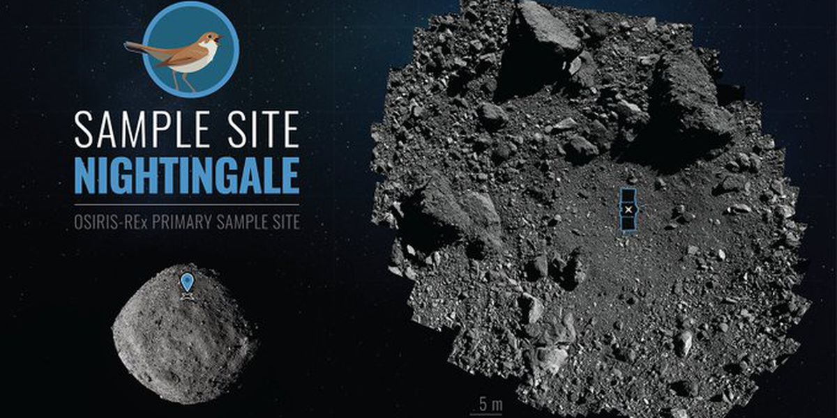 US spacecraft to land on asteroid, take sample