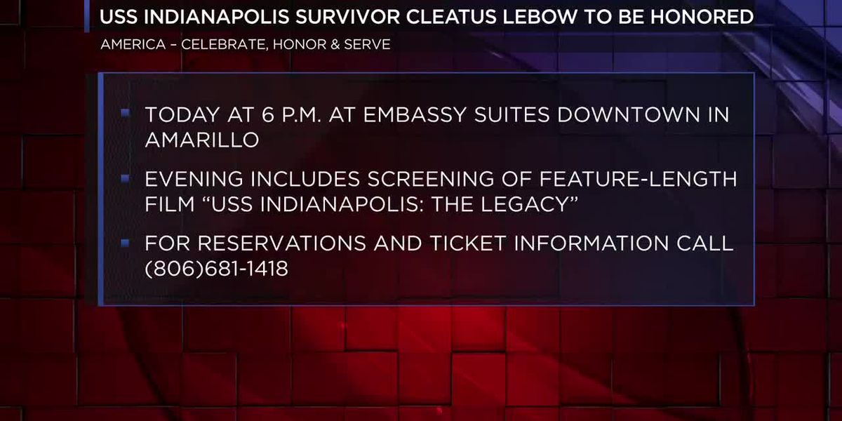 Event to honor last Texas survivor of USS Indianapolis sinking