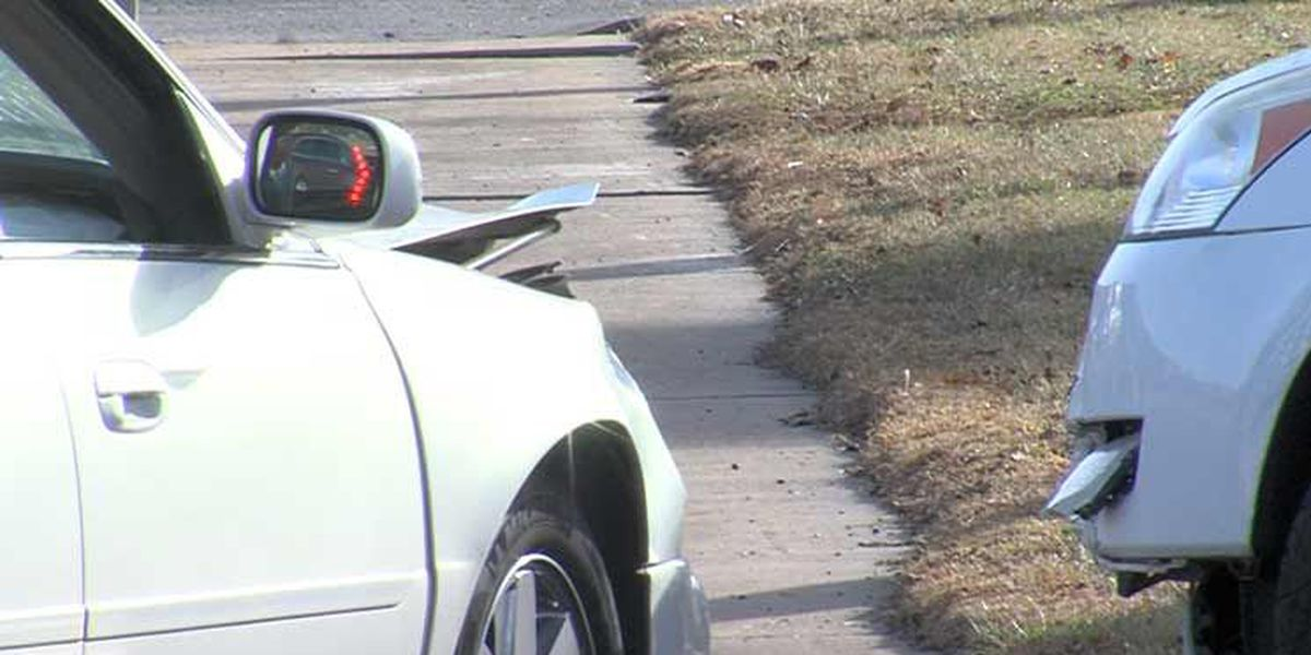 Two people hospitalized after crash