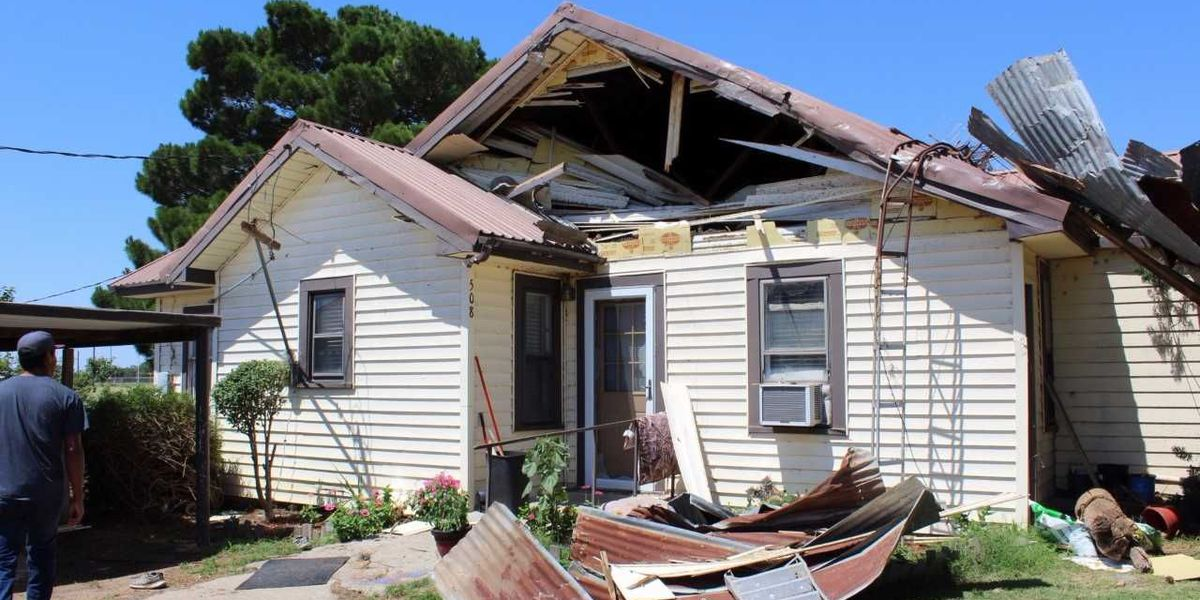 Local family looks to rebuild after severe storms