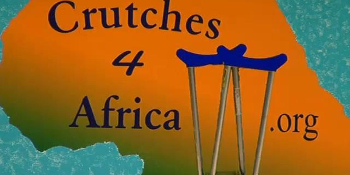 """Rotary Clubs to collect items for """"Crutches 4 Africa"""""""