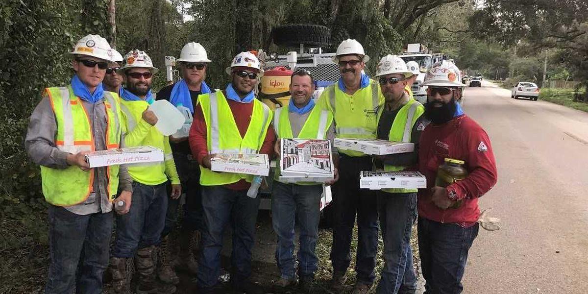 Xcel Energy crews making progress with Hurricane Irma repairs