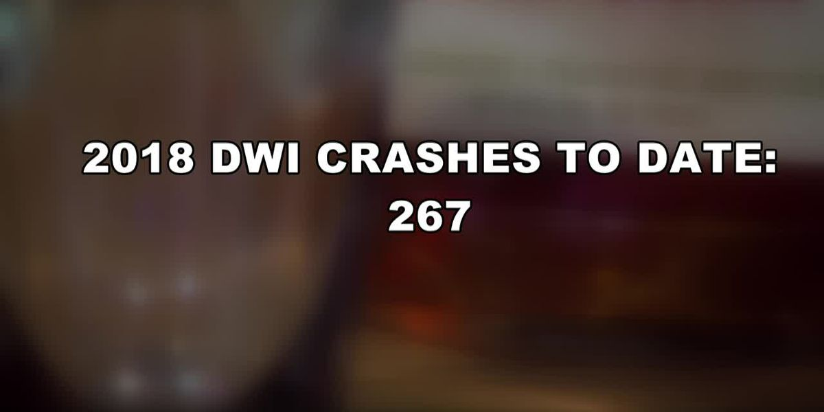 APD: Increase in DWI arrests and crashes in 2018