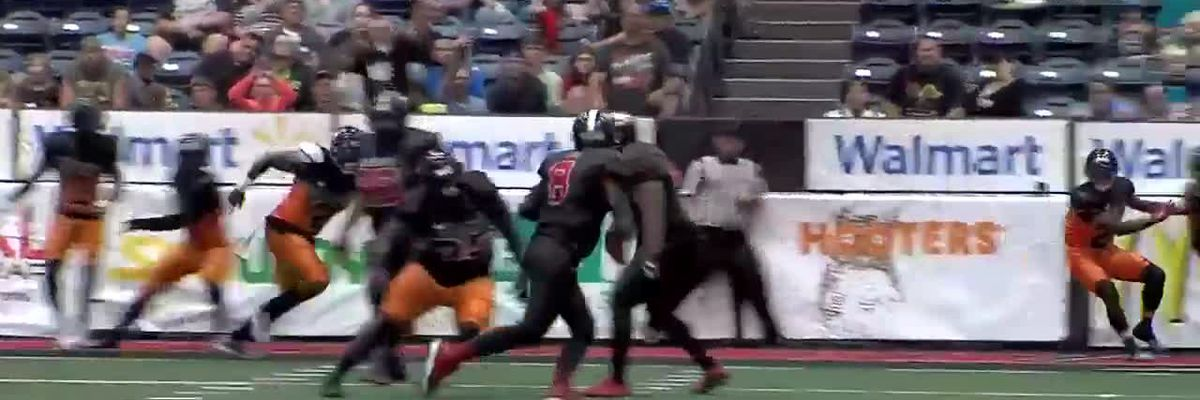 Amarillo Venom hold strong to defeat Omaha Beef 45-42