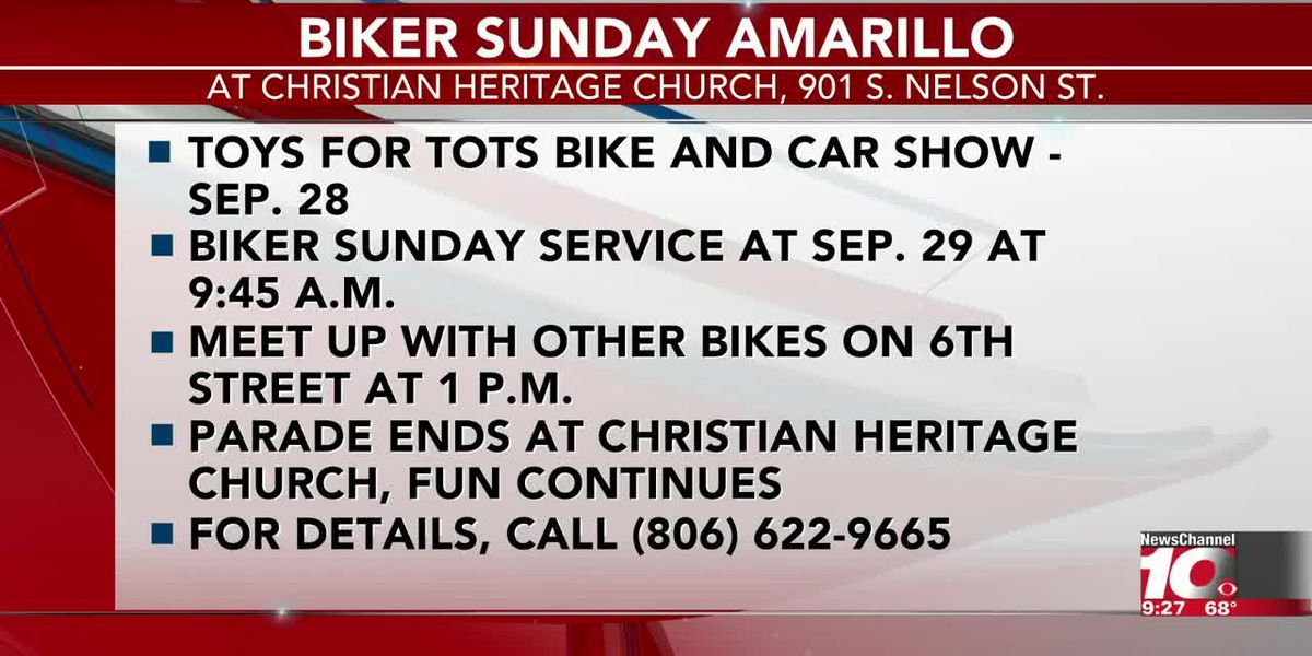 INTERVIEW: Fay and Rock gives the details about the Biker Sunday Amarillo event