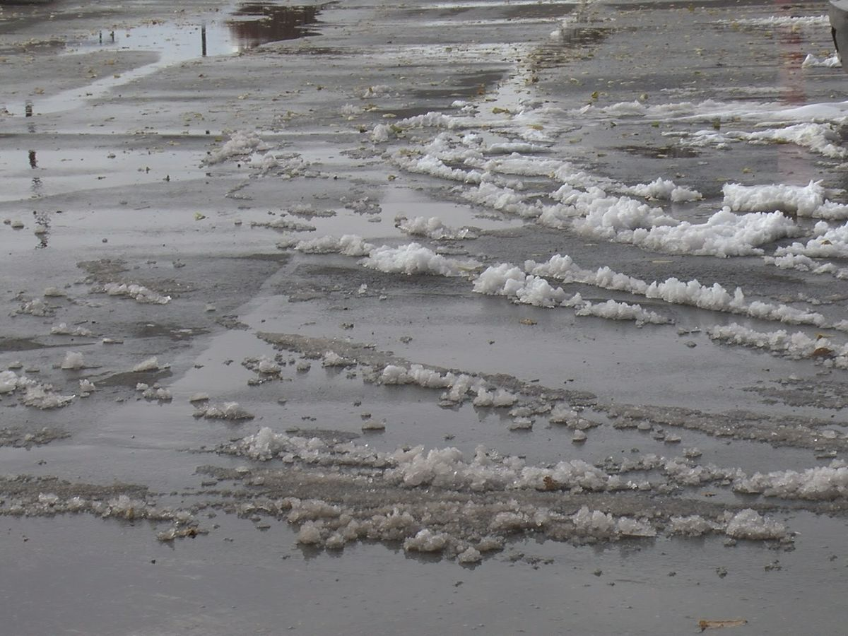 Icy conditions expected overnight as melted snow freezes