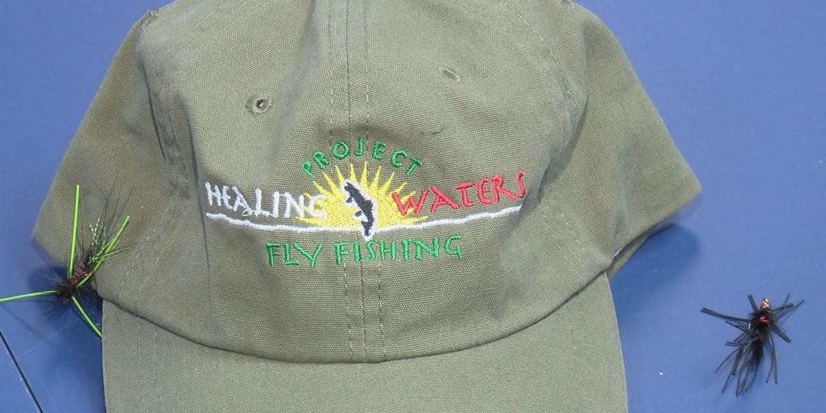 Amarillo veterans receive therapy tying fishing flies