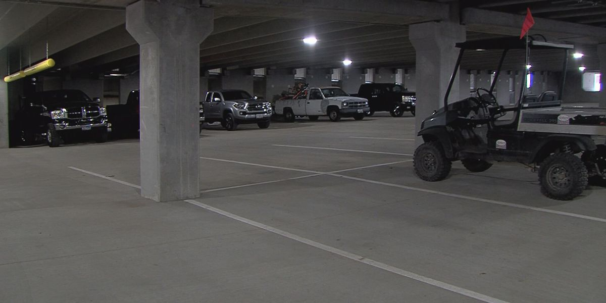 Downtown parking garage opens for Amarillo graduations