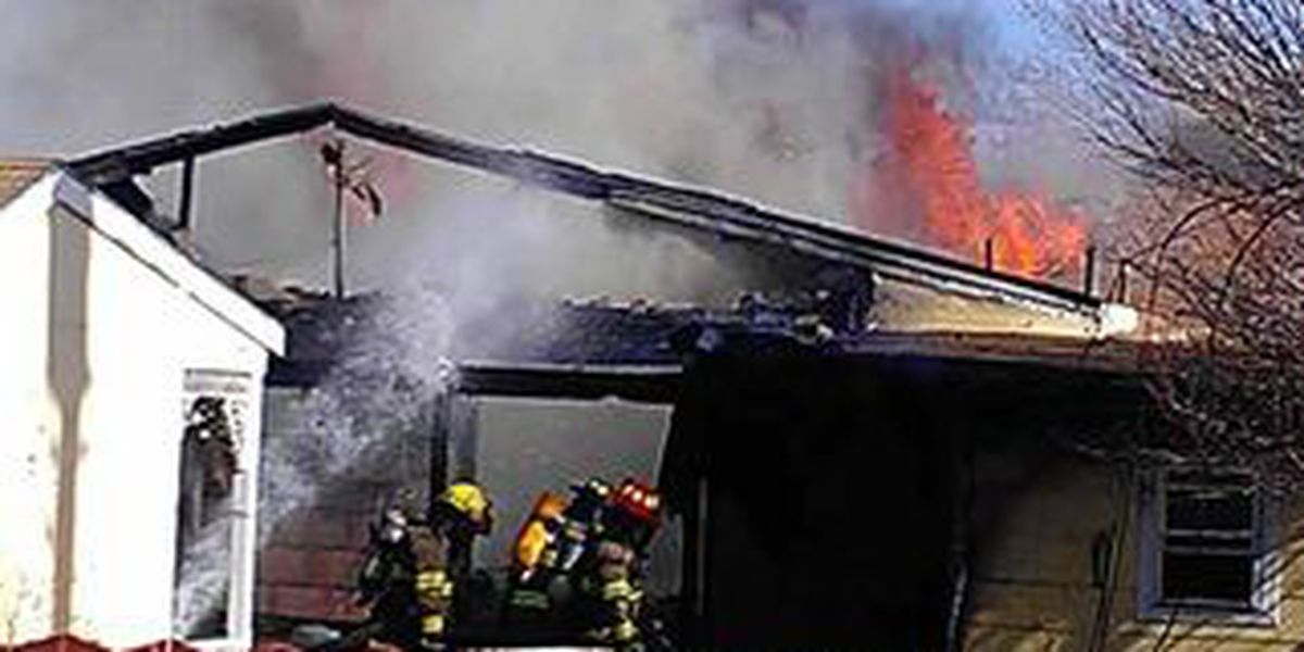 UPDATE: Fire destroys home in Pampa