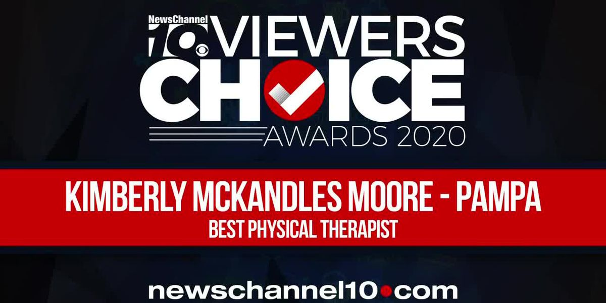 VIEWERS CHOICE AWARDS: KIMBERLY MCKANDLES MOORE - PAMPA WINS BEST PHYSICAL THERAPIST