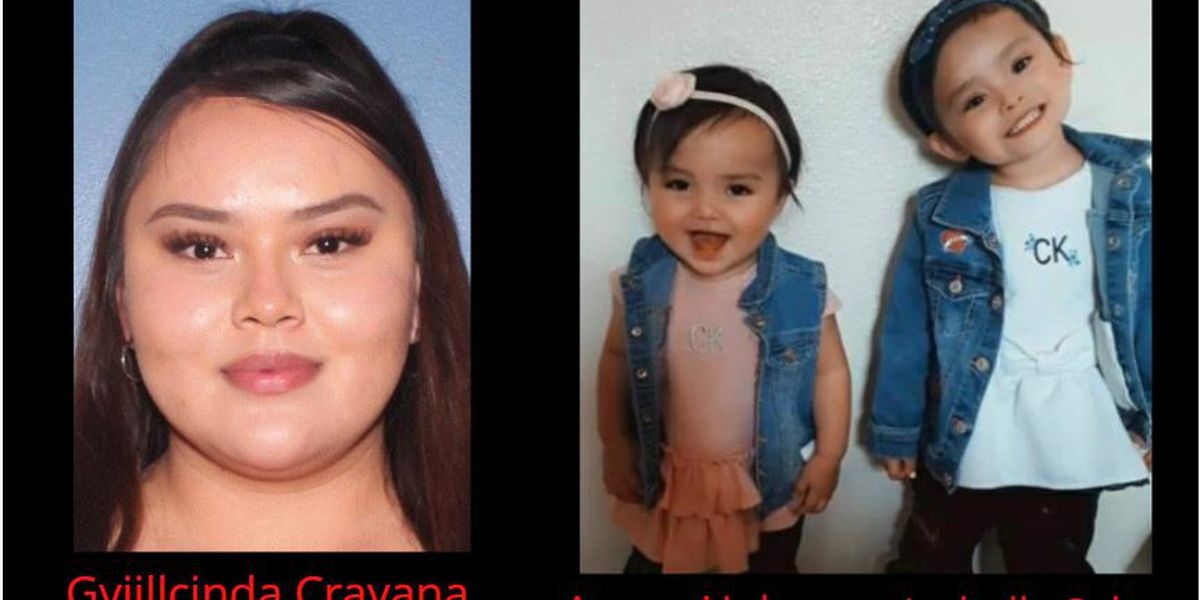 Amber Alert cancelled for 2 toddlers, mother in Carlsbad, NM