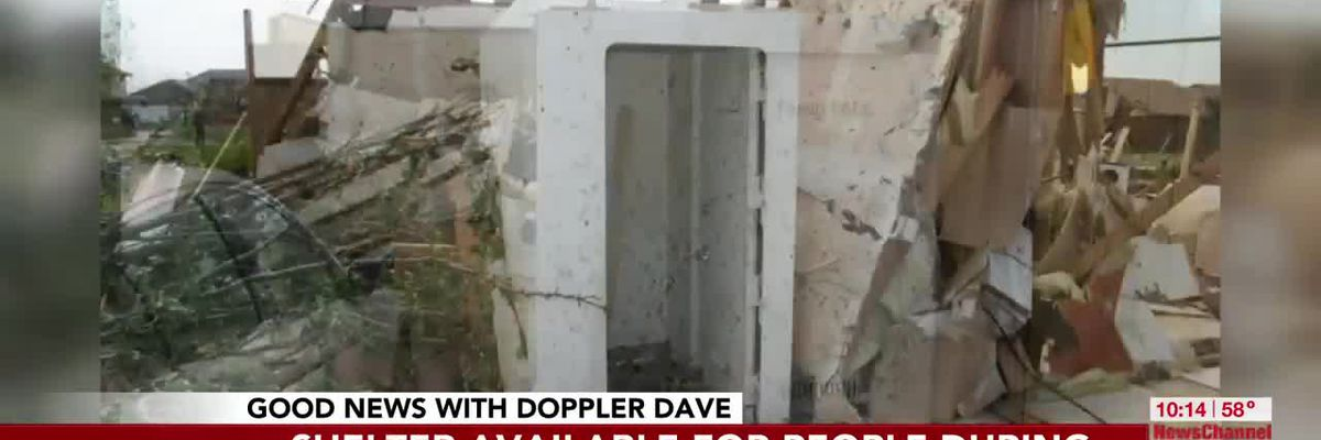 VIDEO: GOOD NEWS: Doppler Dave encourages you to apply for tornado shelter funding