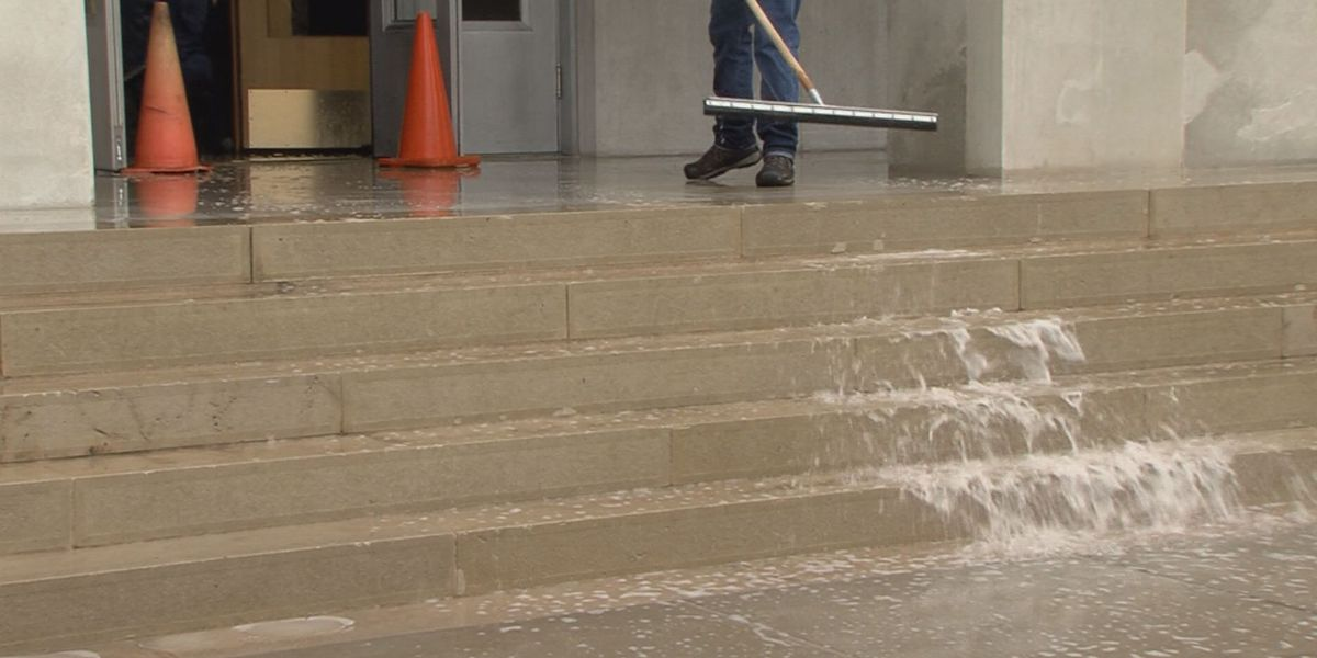 Potter County Courthouse flooding repairs almost complete