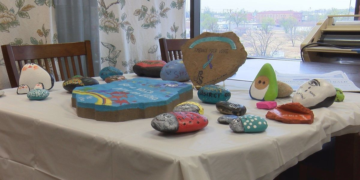 Simple stones with a powerful punch: 'Rock Around the County' event to mark sexual assault awareness month