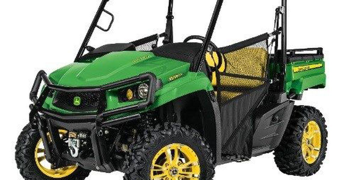 RECALL ALERT: John Deere recalls Gator Utility Vehicles due to crash hazard
