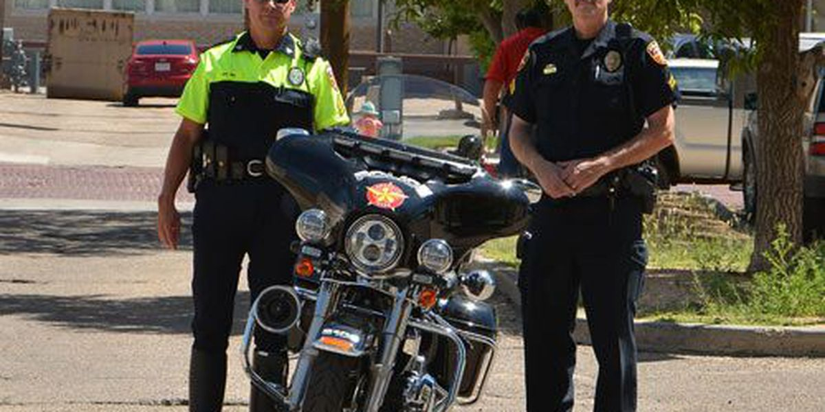 APD motor officers get new uniforms